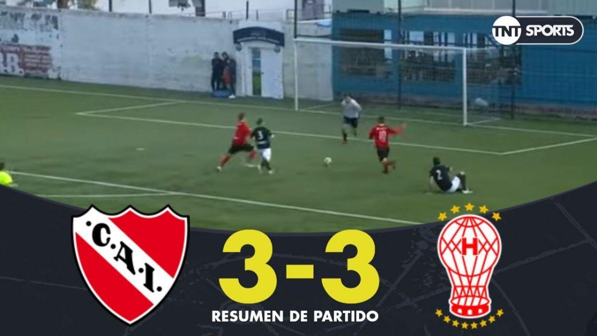 Torneo de Leyendas: Independiente y Huracán empataron 3 a 3