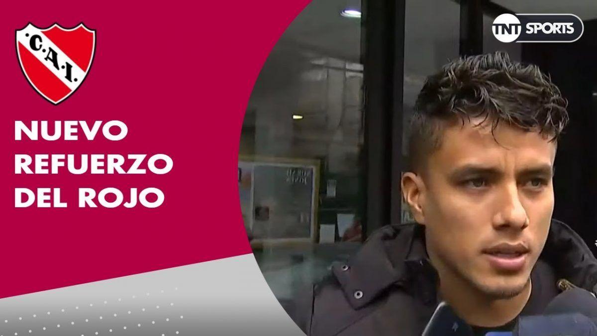 El colombiano Andrés Roa es nuevo refuerzo de Independiente