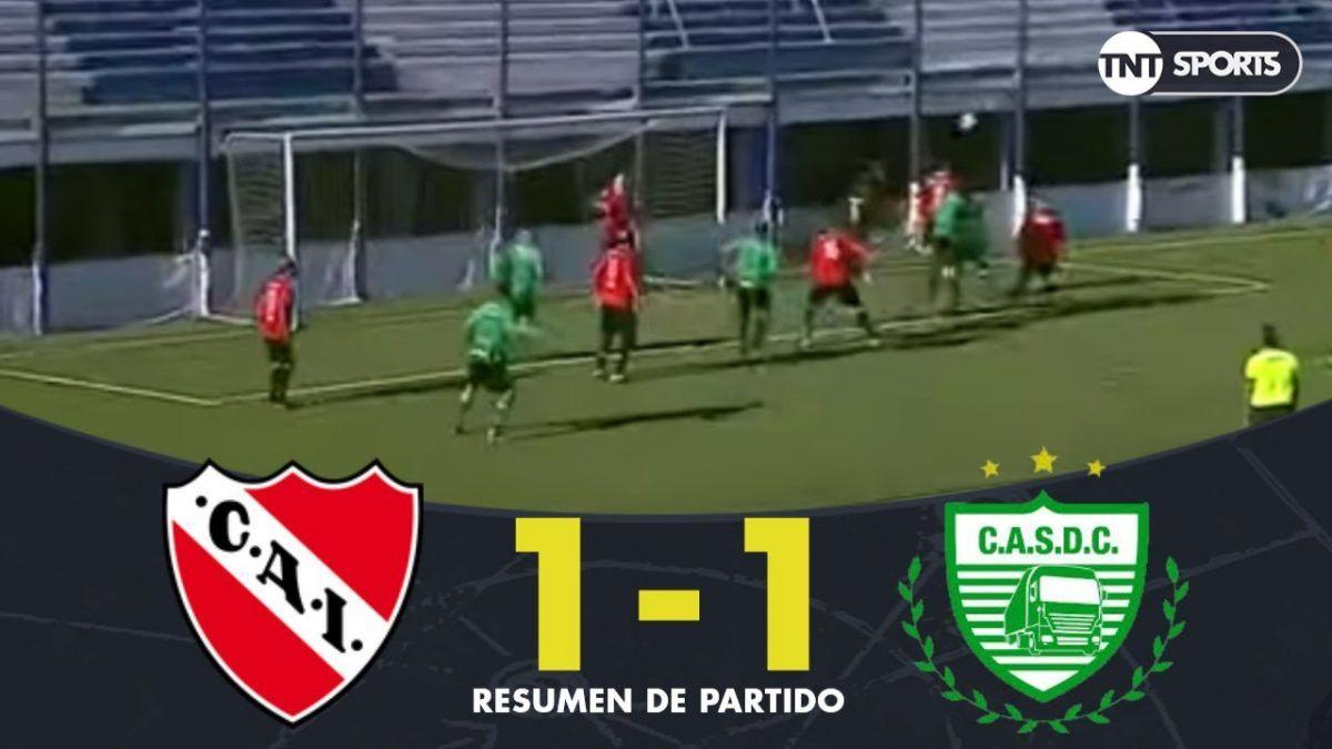 Torneo de leyendas: Resumen del empate entre Independiente y Camioneros