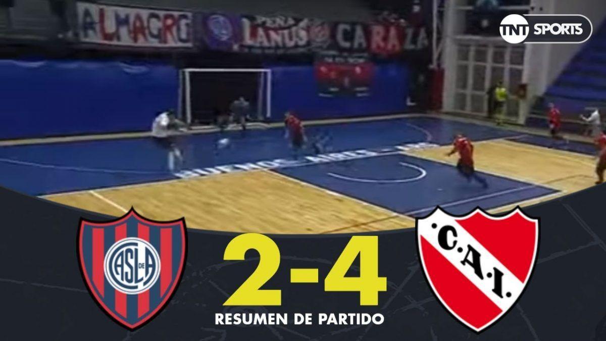Futsal: El Rojo venció a San Lorenzo por 4 a 2