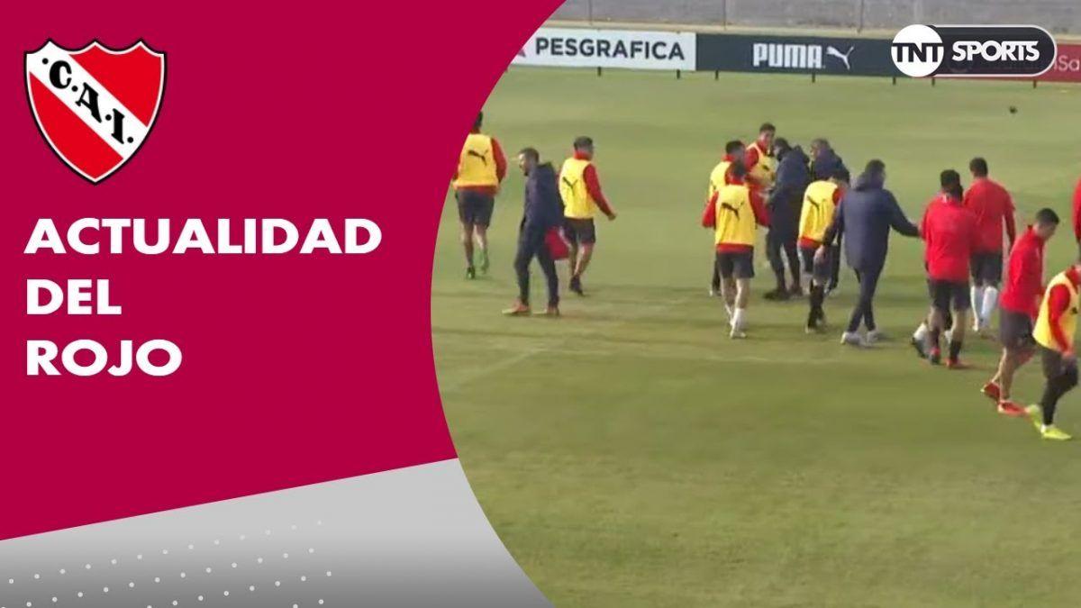 INDEPENDIENTE se prepara para el partido por Copa Sudamericana