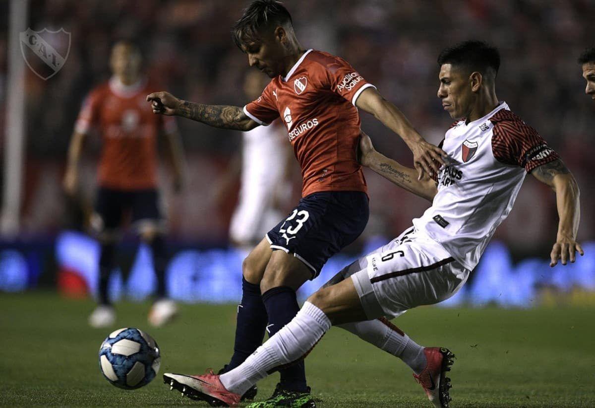 Superliga: Independiente venció a Colón en el Libertadores de América