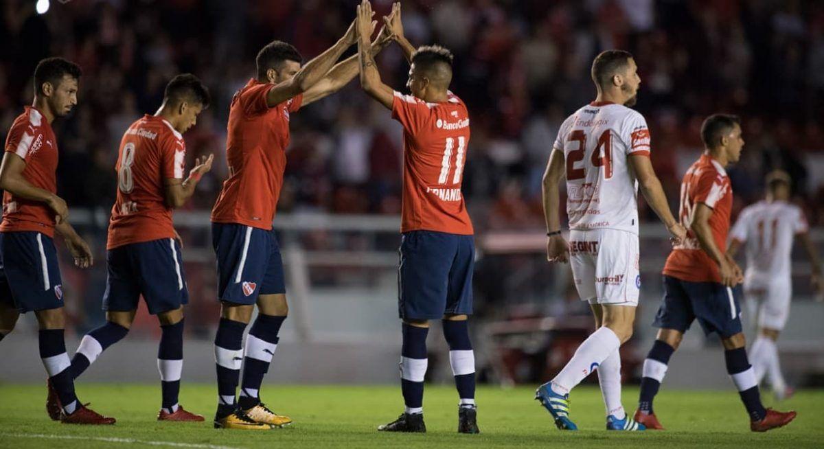 Historial de enfrentamientos entre Independiente y Argentinos