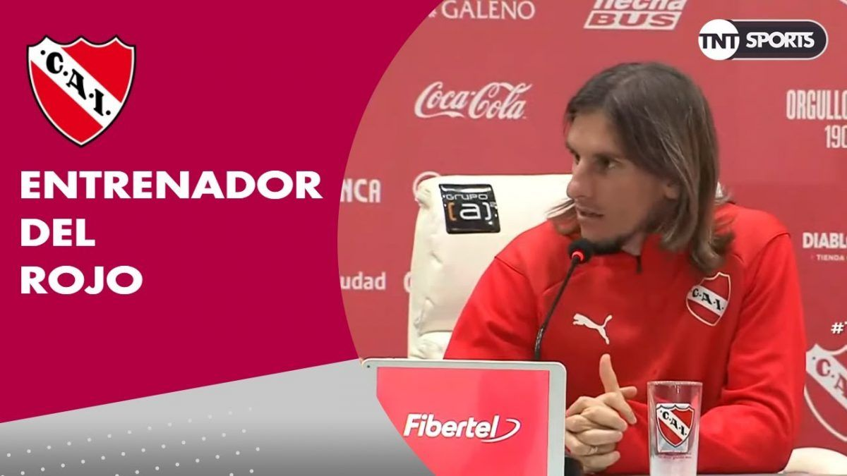 Conferencia de prensa de Sebastián Beccacece