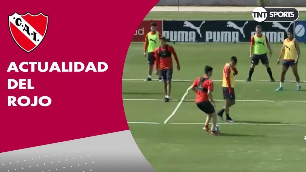Independiente trabaja con la cabeza puesta en Argentinos
