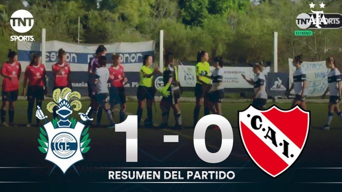 Fútbol Femenino: Resumen de Gimnasia LP vs Independiente