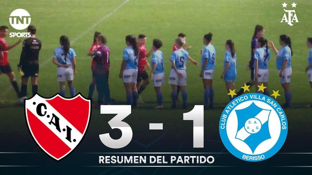 Resumen de Independiente vs Villa San Carlos (3-1) | Fecha 4 - Fútbol Femenino AFA