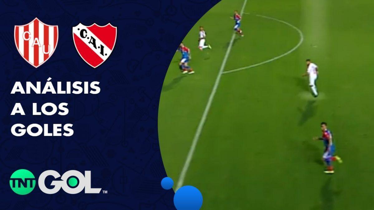 La lupa en los goles de Unión – Independiente
