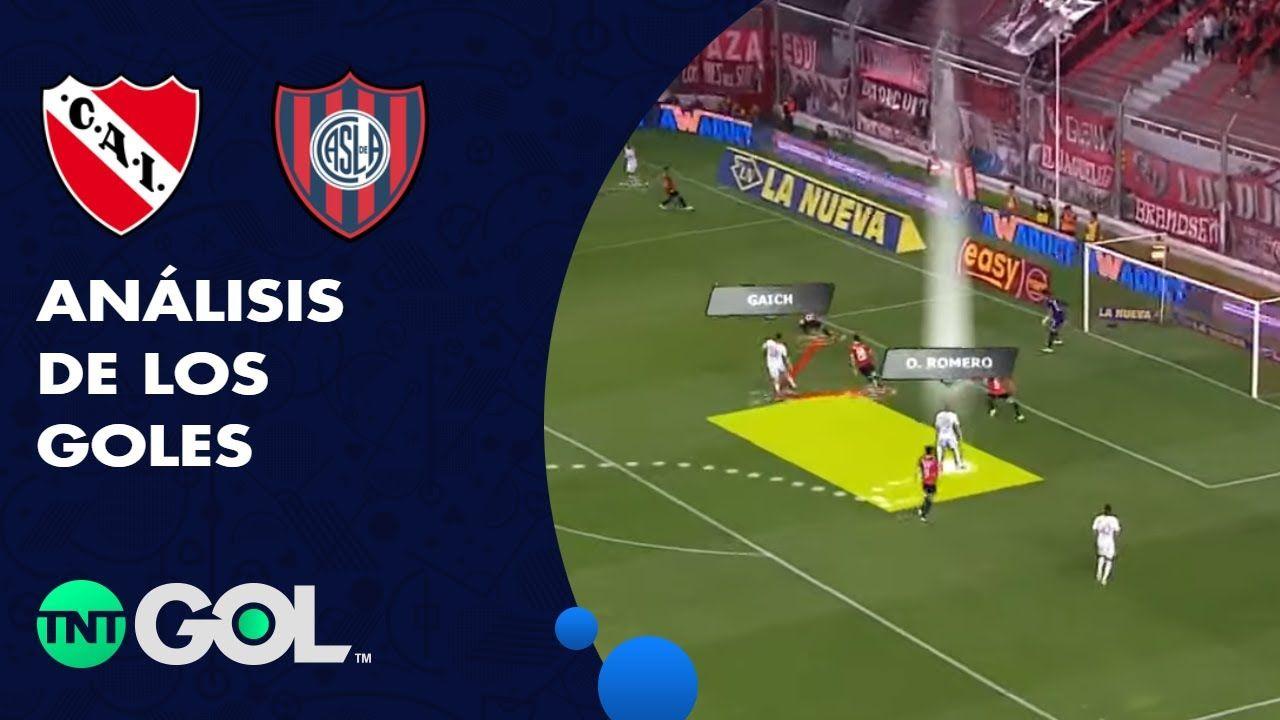 La lupa en los goles del Independiente - San Lorenzo