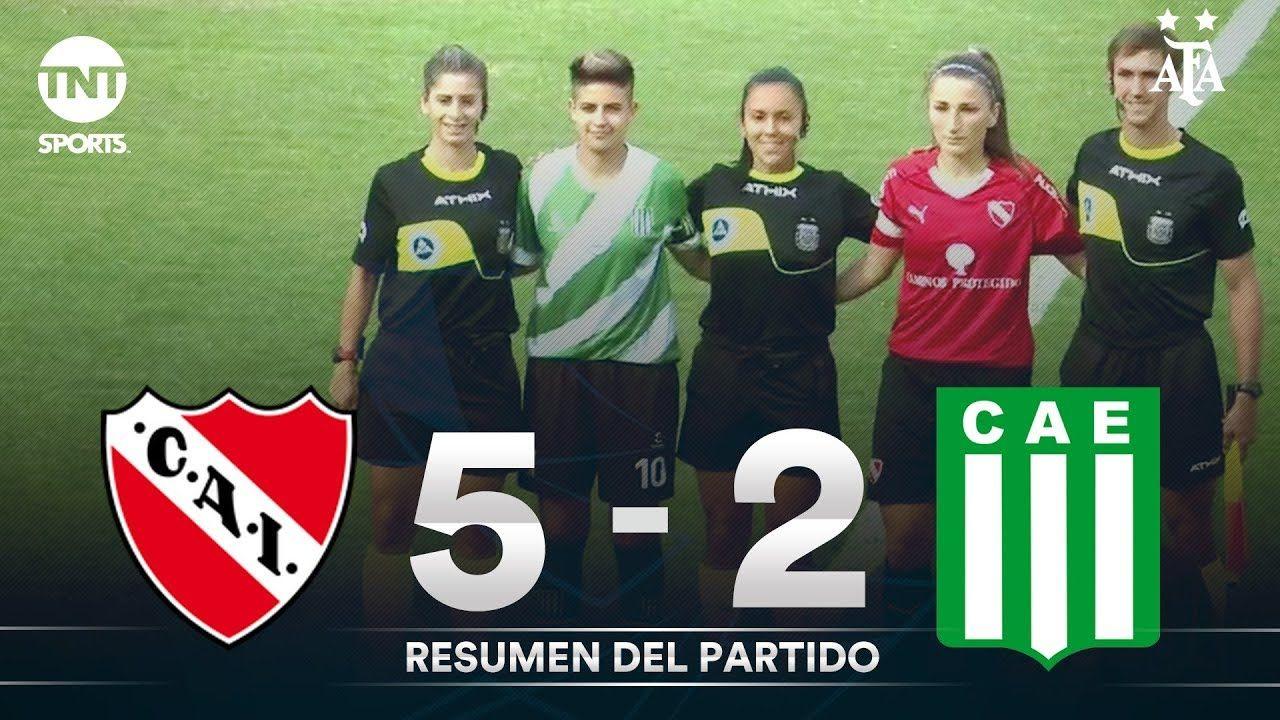 Resumen de Independiente vs Excursionistas (5-2) | Fecha 8 - Fútbol Femenino AFA