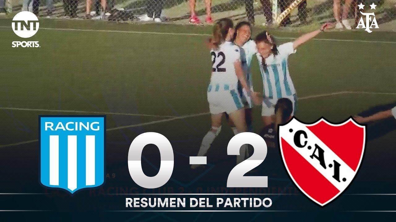 Resumen de Racing vs Independiente (2-0)   Fecha 9 - Fútbol Femenino AFA