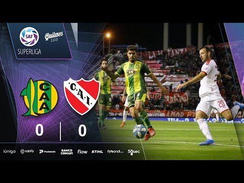 (VIDEO) Fecha 15: resumen de Aldosivi – Independiente