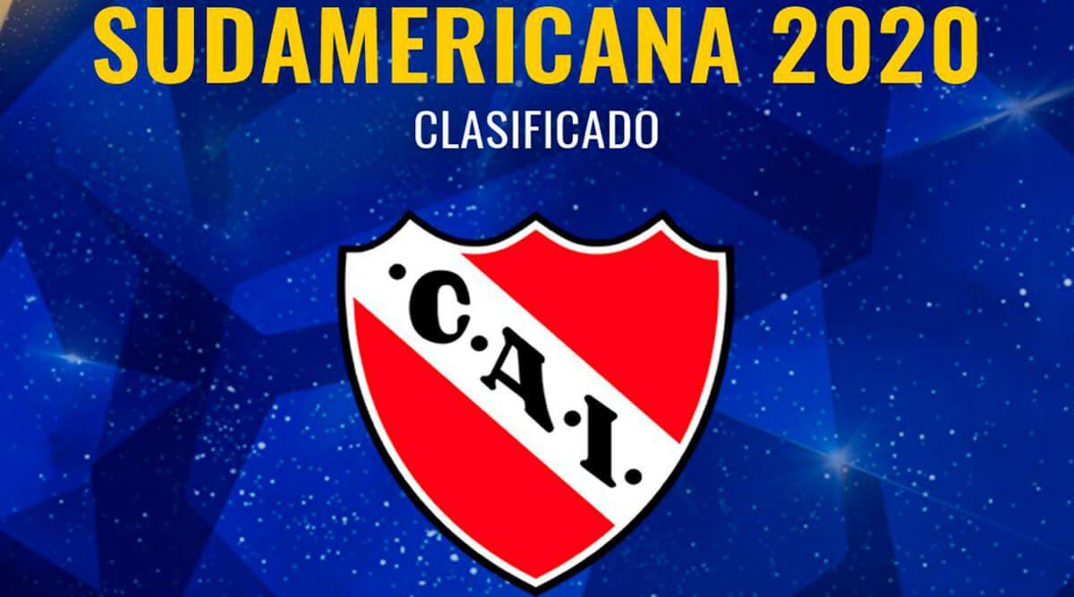Independiente de Avellaneda ya tiene fecha para enfrentar a la Fortaleza en la primera fase de la Copa Sudamericana 2020