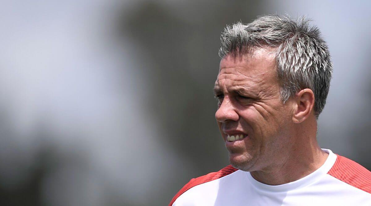 Lucas Pusineri: «Igual destaco la actitud de los futbolistas para ir al frente»