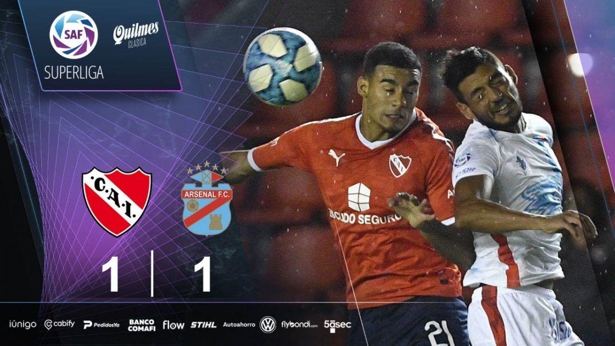 (VIDEO) Resumen de Independiente – Arsenal