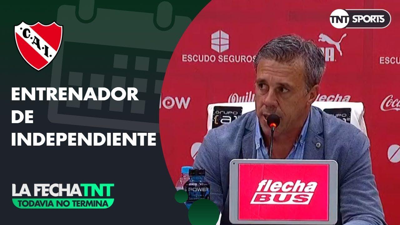 Conferencia de prensa de Lucas Pussineri