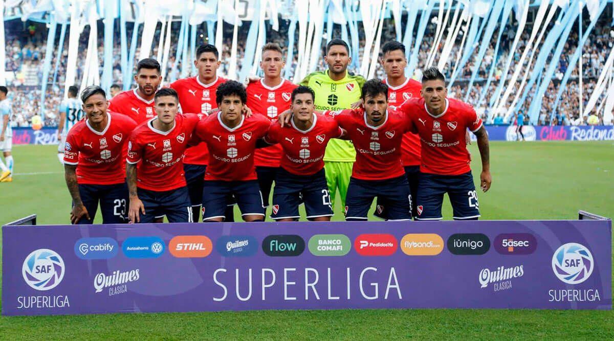 Superliga: Independiente cayó por la mínima ante Racing Club en el Cilindro de Avellaneda
