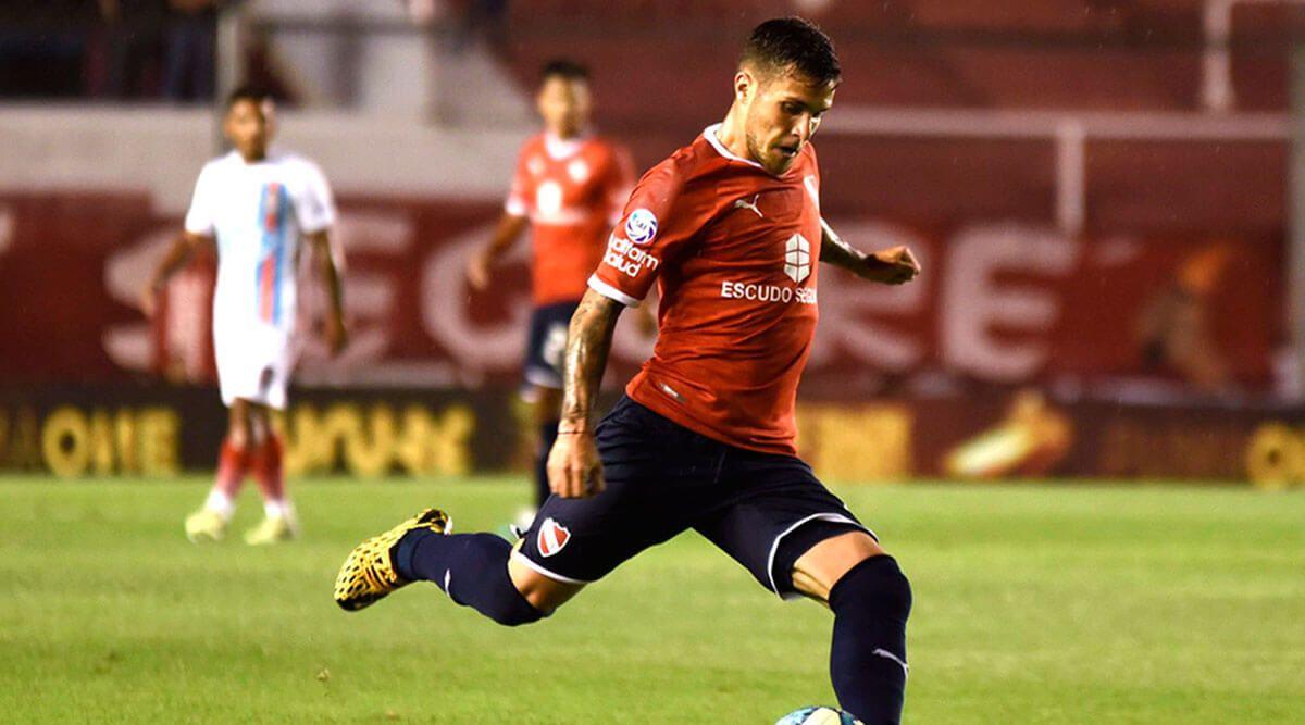 Superliga: Independiente igualó por la mínima con Arsenal de Sarandí en el estadio Libertadores de América