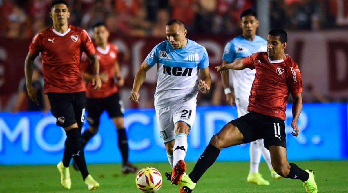 Independiente – Racing Club por la Superliga Argentina: árbitro, formaciones y TV en Vivo