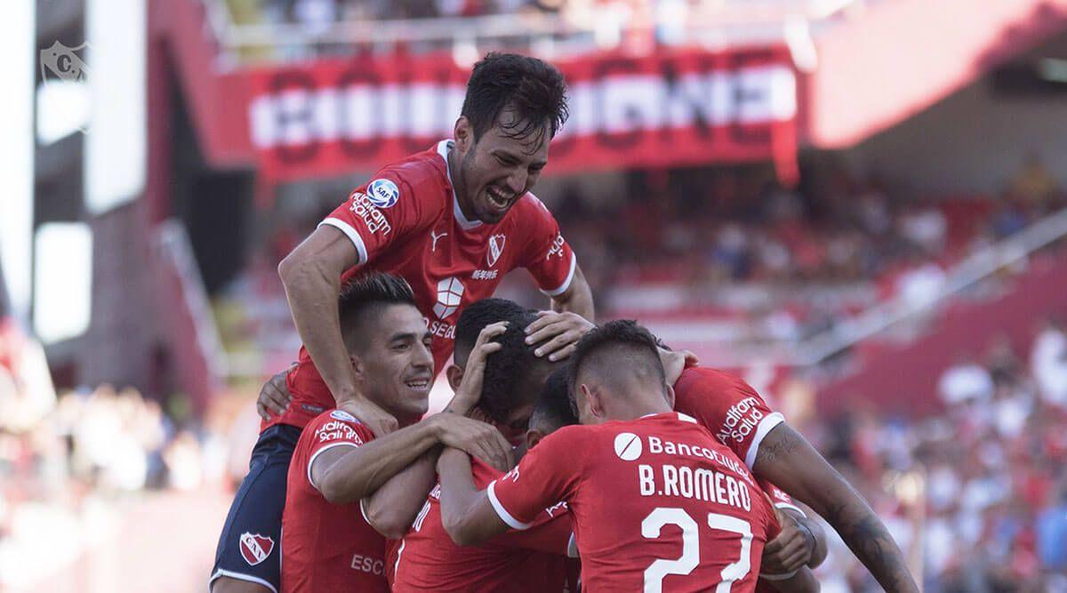 Conmebol Sudamericana 2020: Independiente de Avellaneda venció a La Fortaleza Esporte Club en el estadio Libertadores de América