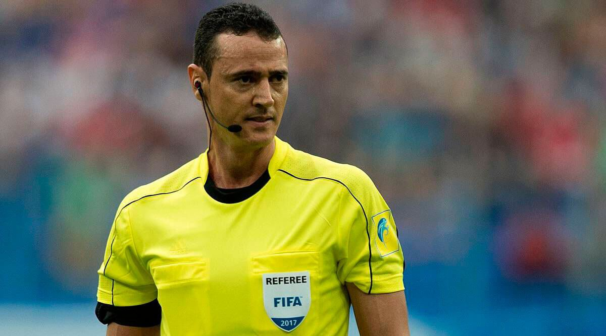 Conmebol Sudamericana 2020: Wilmar Roldán será el árbitro para el encuentro ante la Fortaleza Esporte Clube