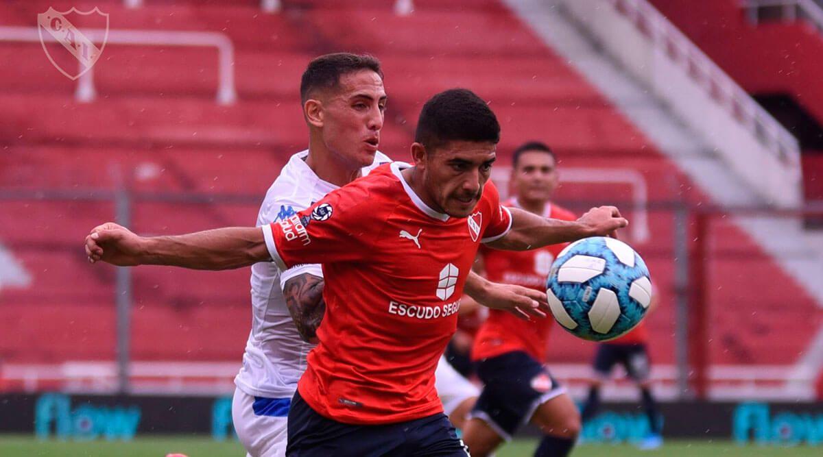 Independiente venció por la mínima a Vélez Sarsfield en el debut por la Copa de la Superliga