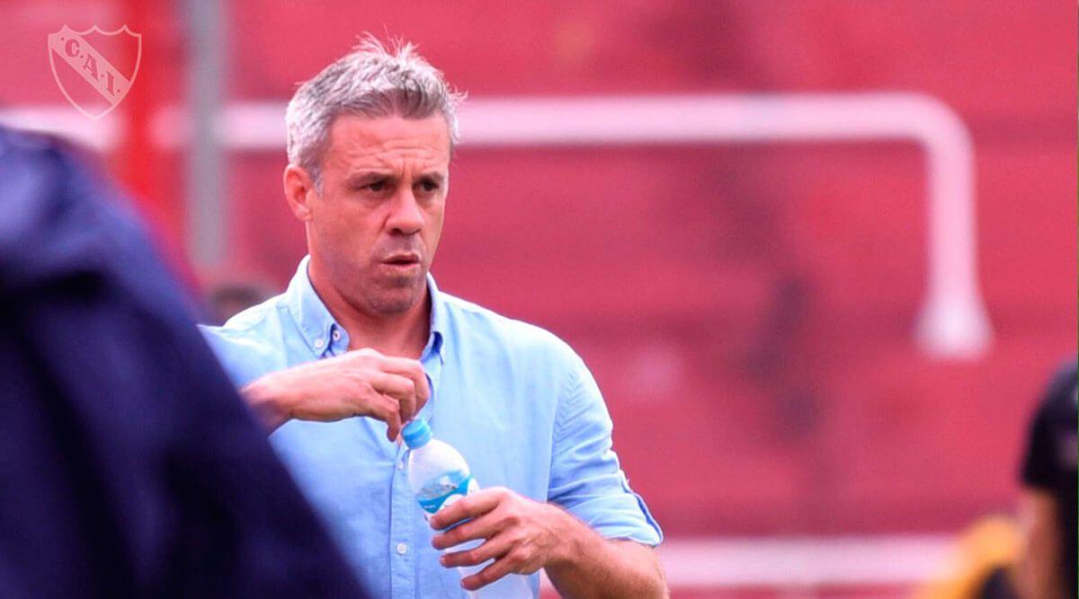Lucas Pusineri: «Estoy muy conforme con lo que están mostrando los futbolistas»