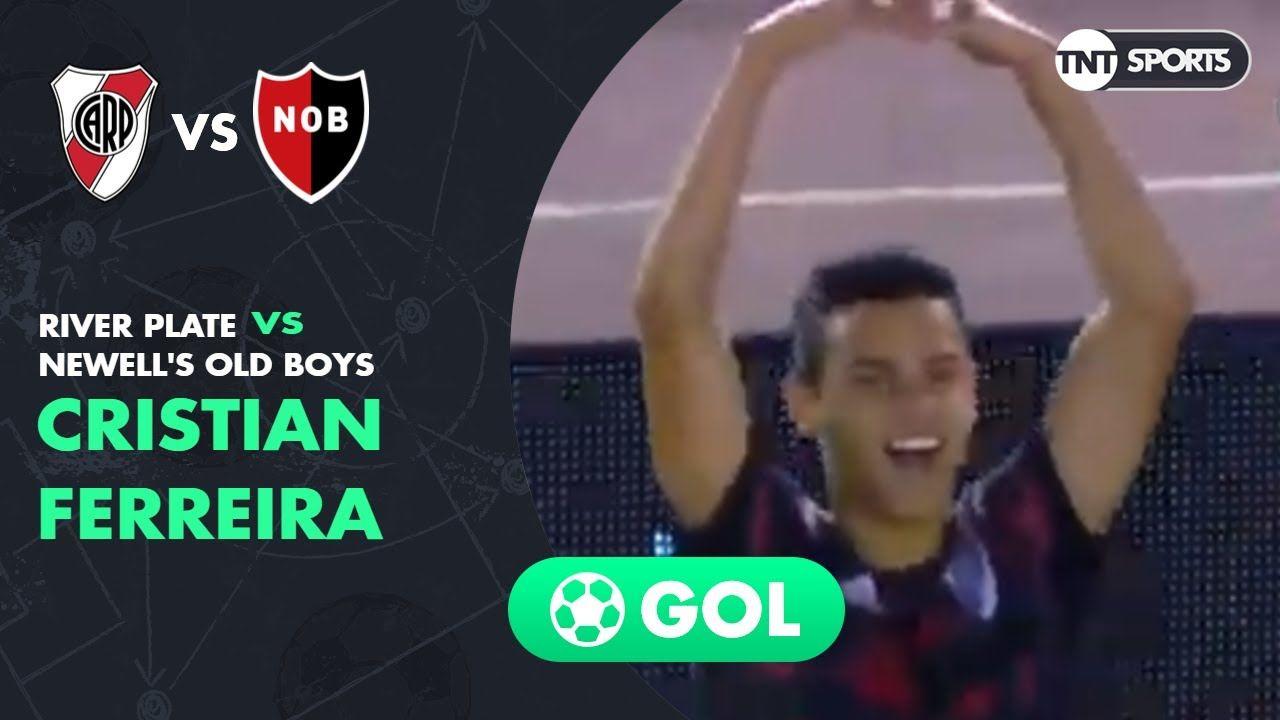 Cristian Ferreira (3-1) River Plate vs Newell's | Fecha 21 - Superliga Argentina 2018/2019