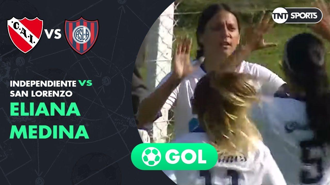 Eliana Medina (0-1) Independiente vs San Lorenzo | Fecha 2 | Grupo C - Torneo Transición 2020