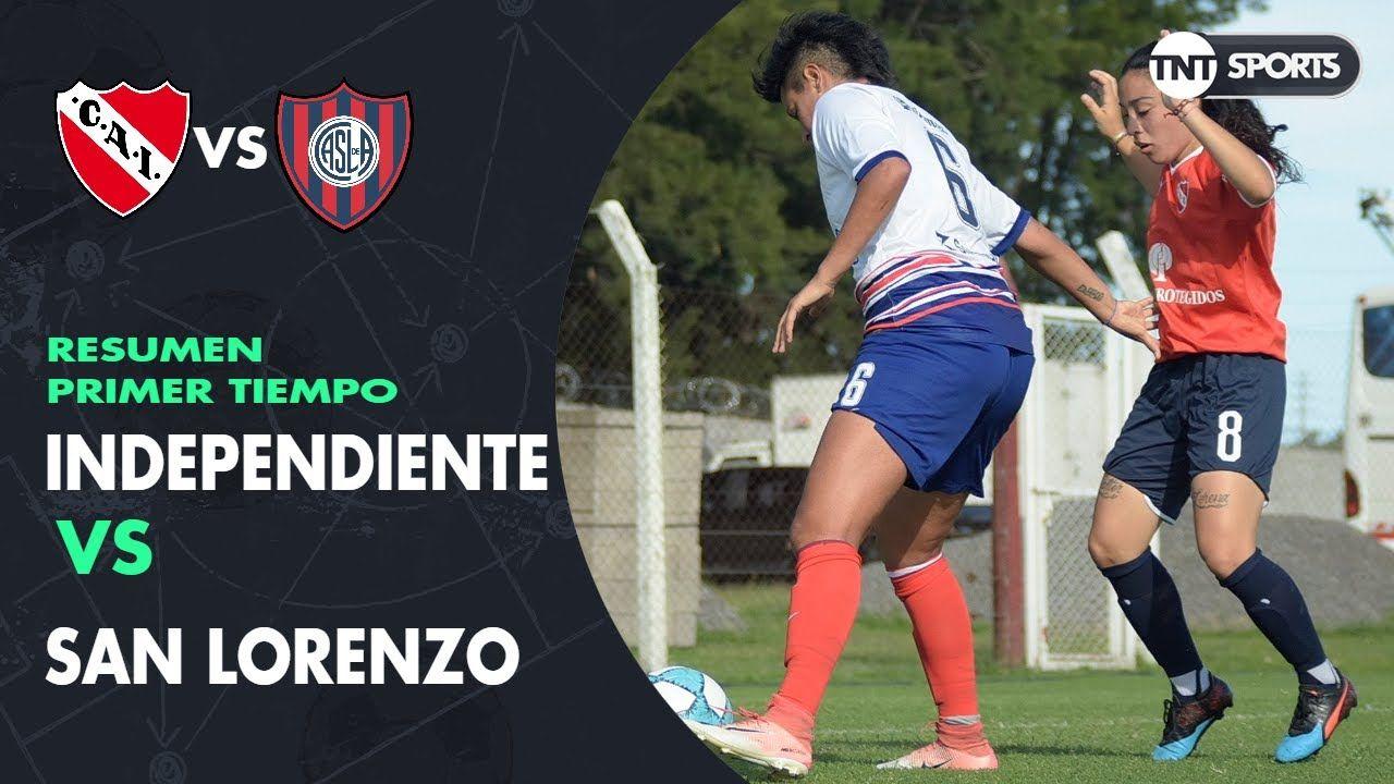 Resumen Primer tiempo: Independiente vs San Lorenzo | Fecha 2 | Grupo C - Torneo Transición 2020