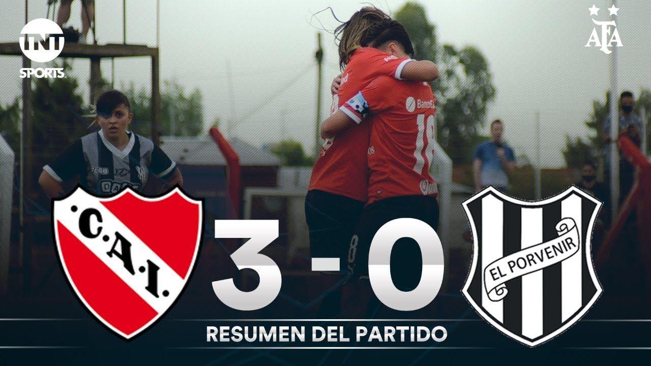 Resumen de Independiente vs El Porvenir (3-0) | Fecha 1 | Grupo C - Torneo Transición 2020