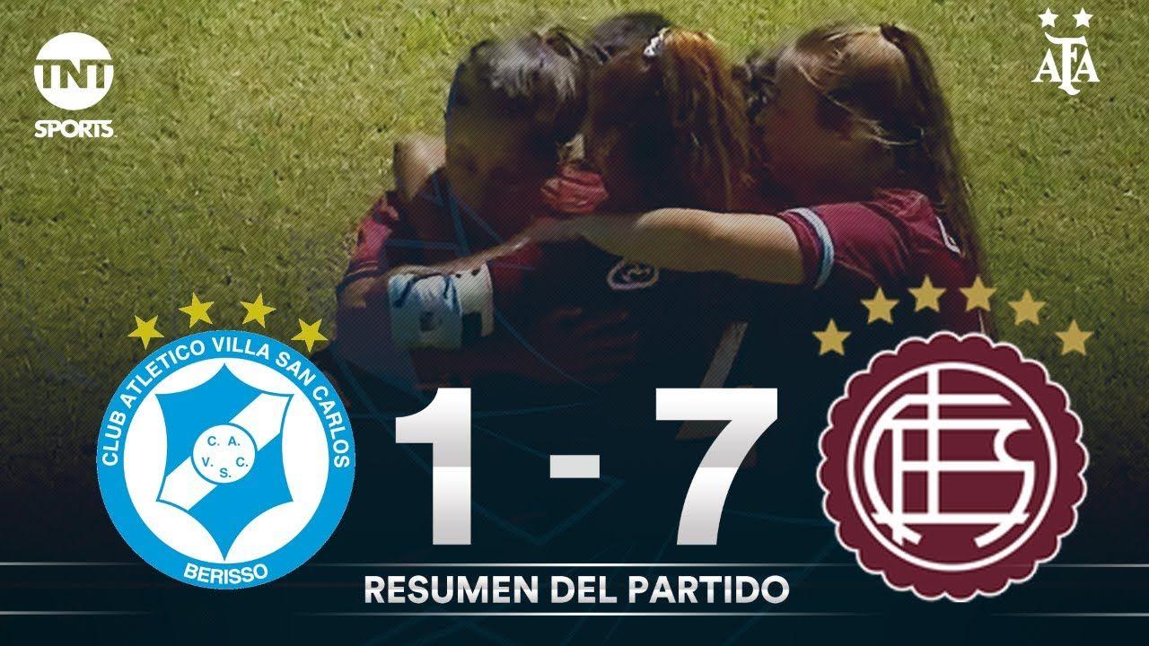 Resumen de Villa San Carlos vs Lanús (1-7) | Fecha 2 | Grupo D - Torneo Transición 2020