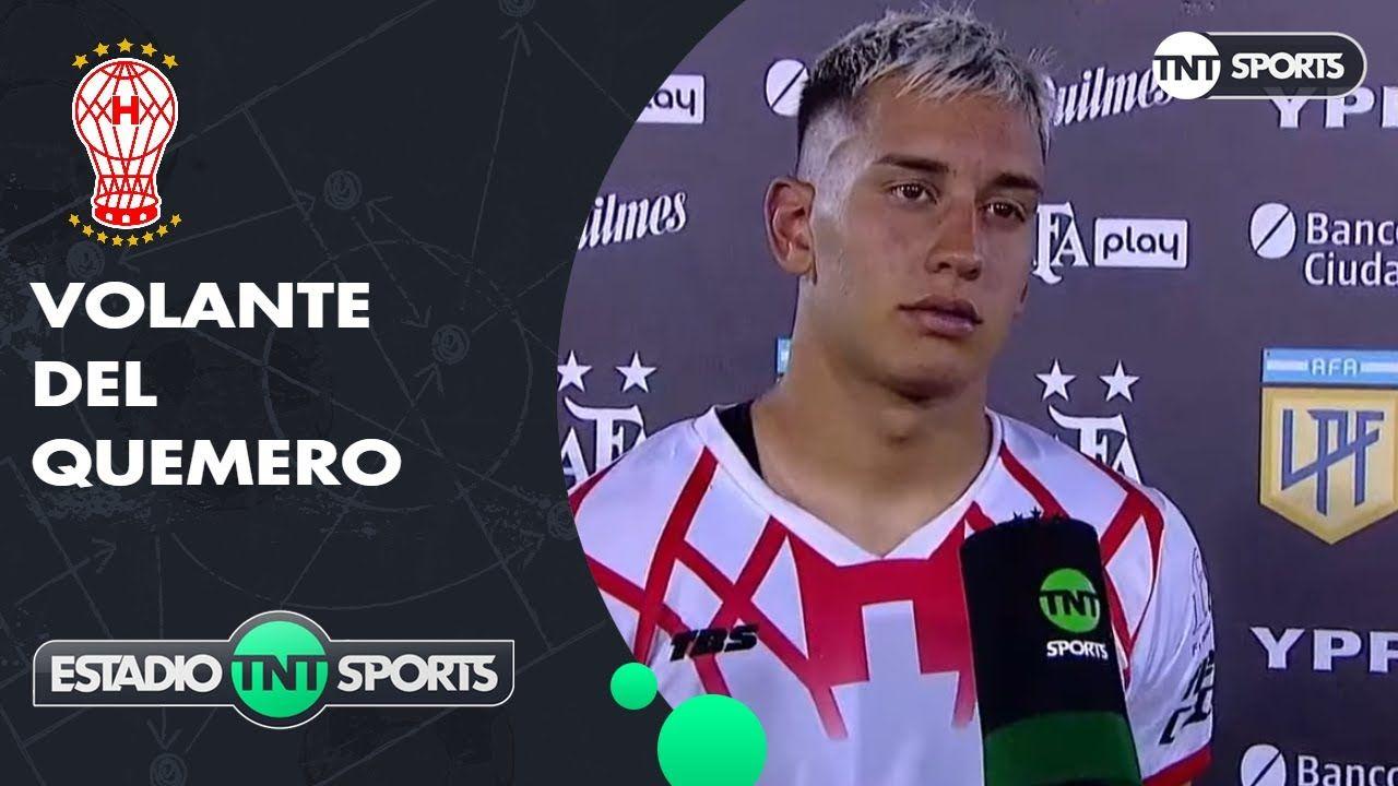 """Santiago Hezze: """"Me tocó entrar y pude agarrar más la pelota, eso te va generando confianza"""""""