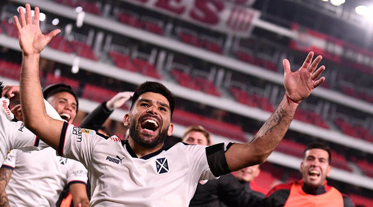 independiente vencio a estudiantes lp por penales en los cuartos de final de la copa de la liga