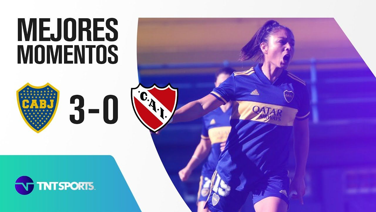 GLADIADORAS, A SEMIFINALES🔵🟡Boca vs Independiente (3-0) | Cuartos de Final - Torneo Apertura 2021